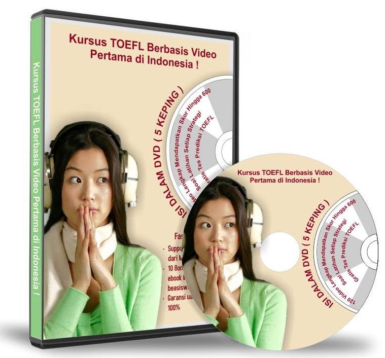 dvd video belajar toefl