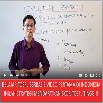 Tes TOEFL Online