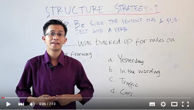 video belajar TOEFL